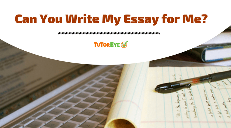 Write Essay for me